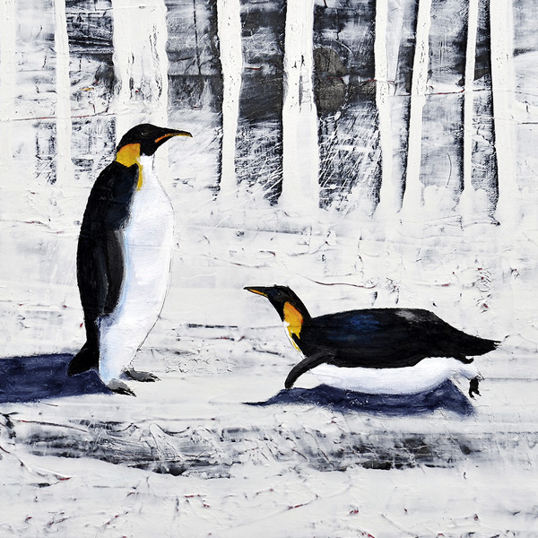Penguin Fall