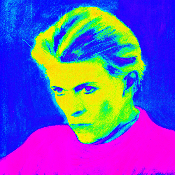 Bowie Blue and Pink