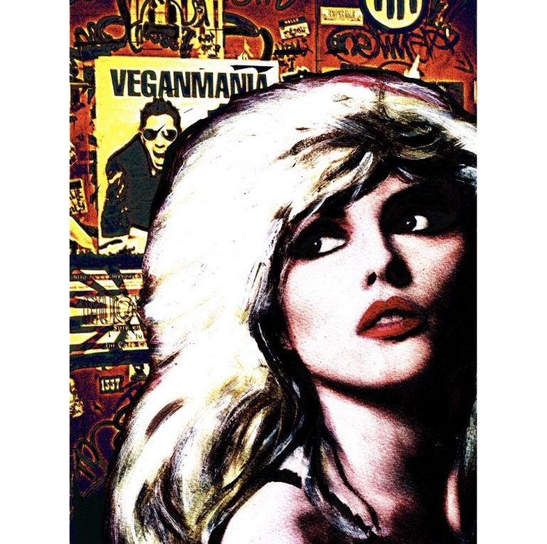 Blondie Veganmania Painting