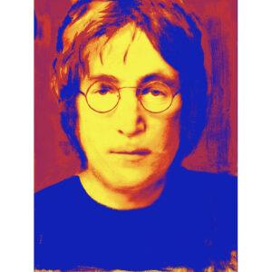 Red John Lennon Painting