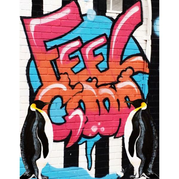 Feel Good Penguin Painting